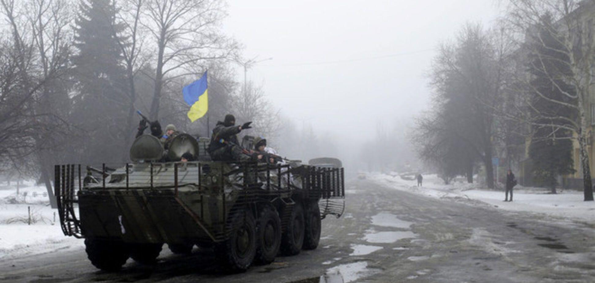 В Углегорске разблокировали 73 бойцов АТО