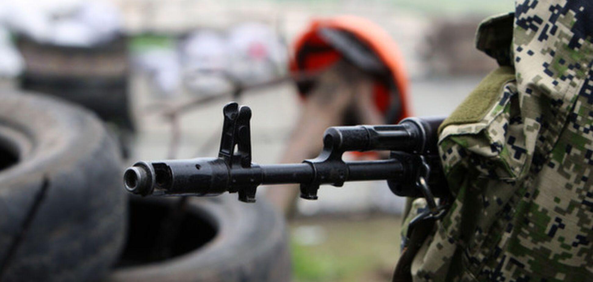 Артиллерия АТО уничтожила колонну техники боевиков в Луганской области