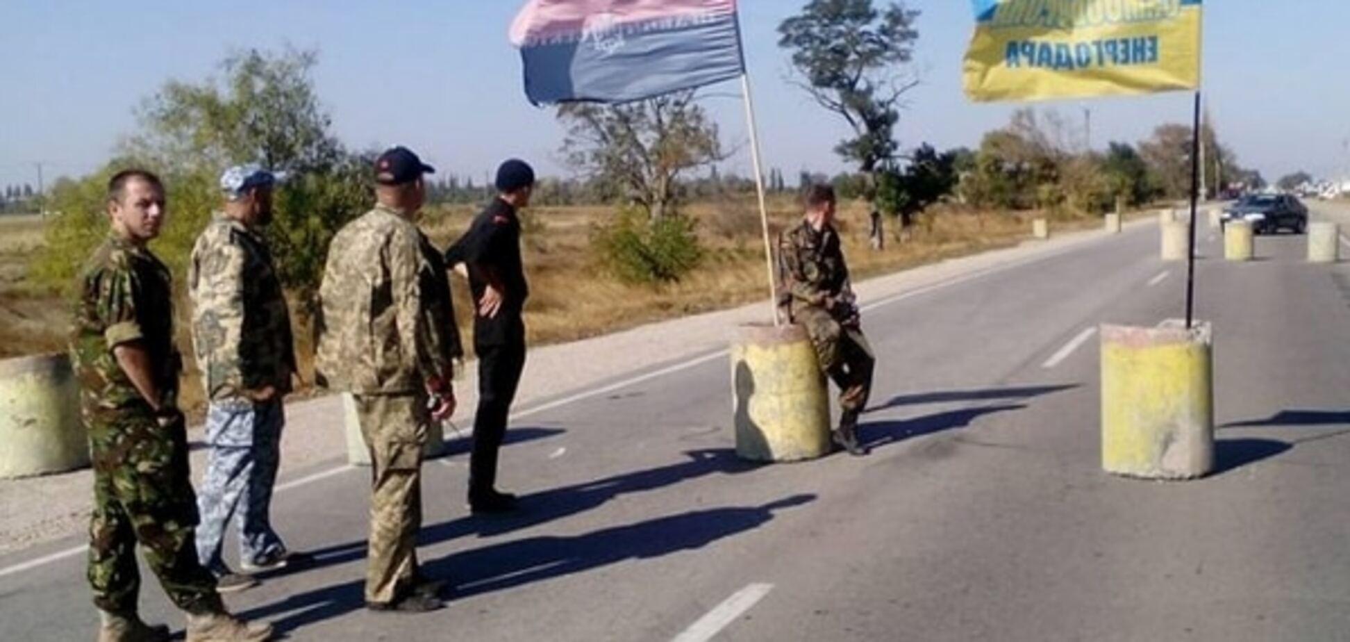 До блокади Криму підключився 'Азов': будемо стільки, скільки потрібно