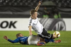 'Днепр' эффектно выиграл у норвежцев в Лиге Европы