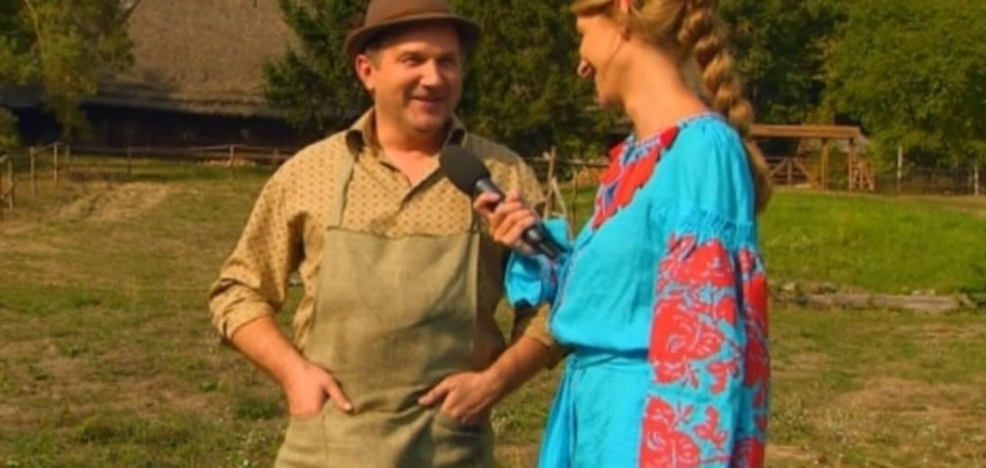 Осадчая и Горбунов не смогли скрыть флирт во время интервью