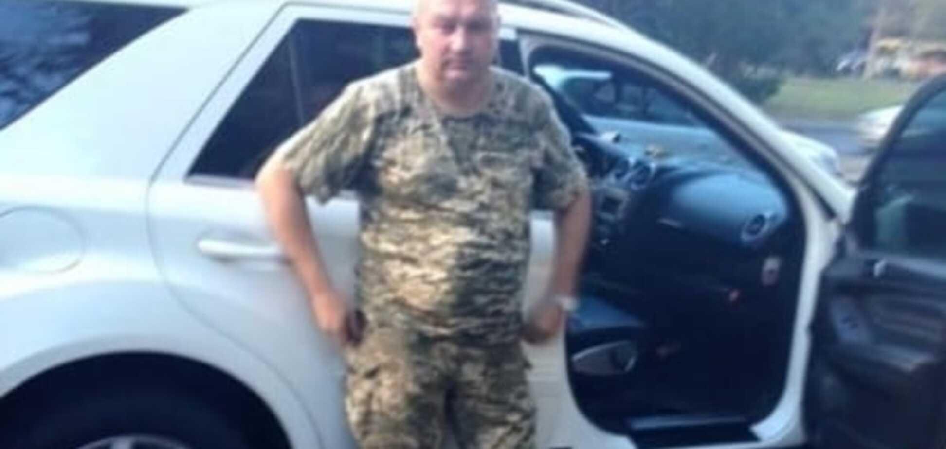 Муженко звільнив спійманого на п'яному водінні полковника ЗСУ