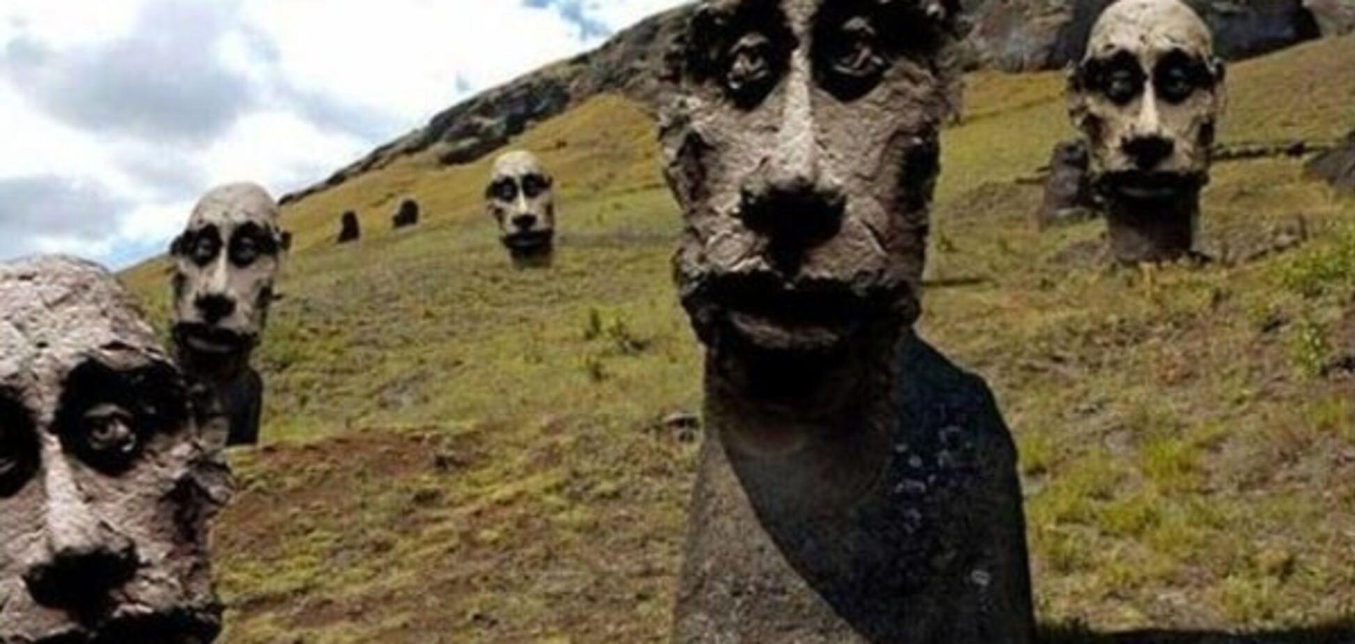 'Посланник небес': в России уверены, что на острове Пасхи стоят памятники Путину