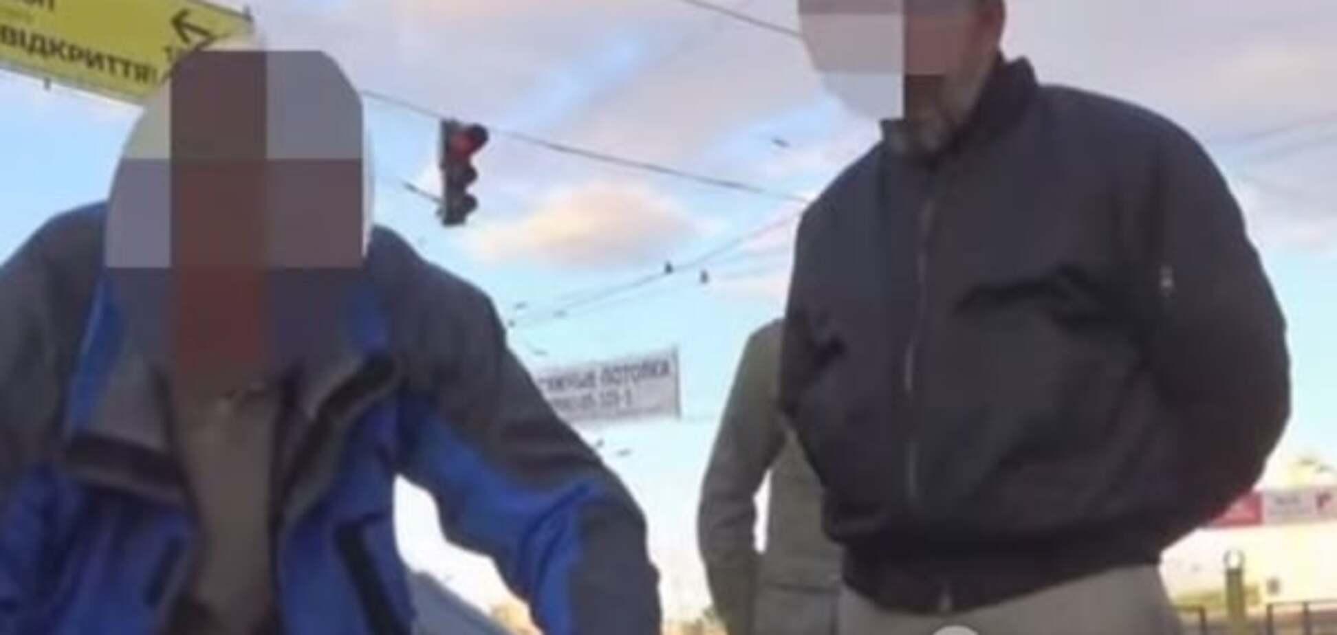 СБУ опублікувала аудіоперехват і відео затримання терористів, які готували вибухи в Києві