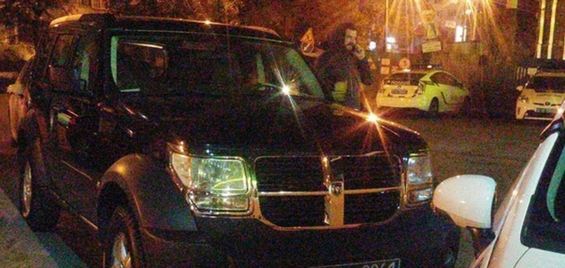 У Києві поліція зловила сина Корчинського на викраденому авто: опубліковані фото