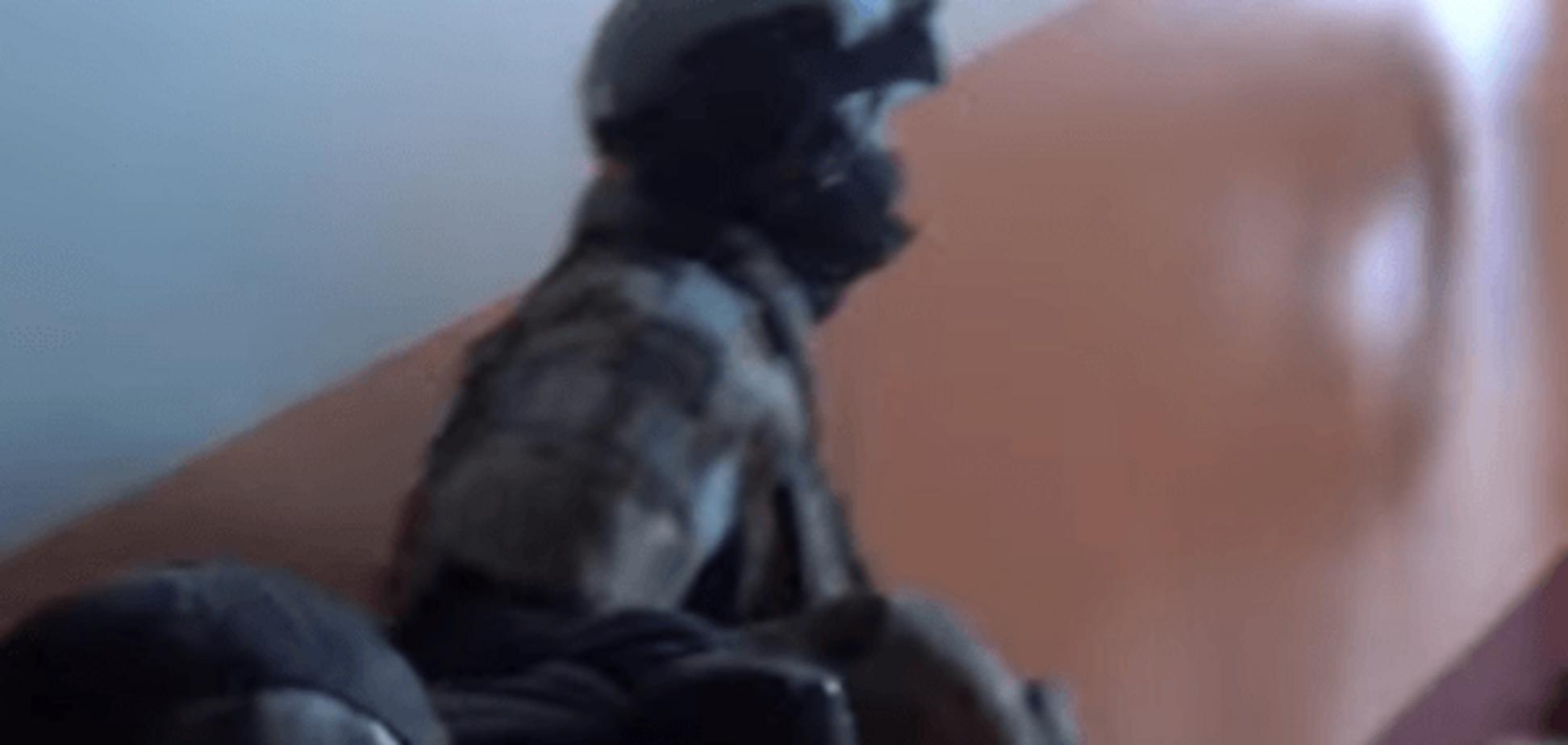 Готували в Сирії: ФСБ показала відео затримання терористів у Москві