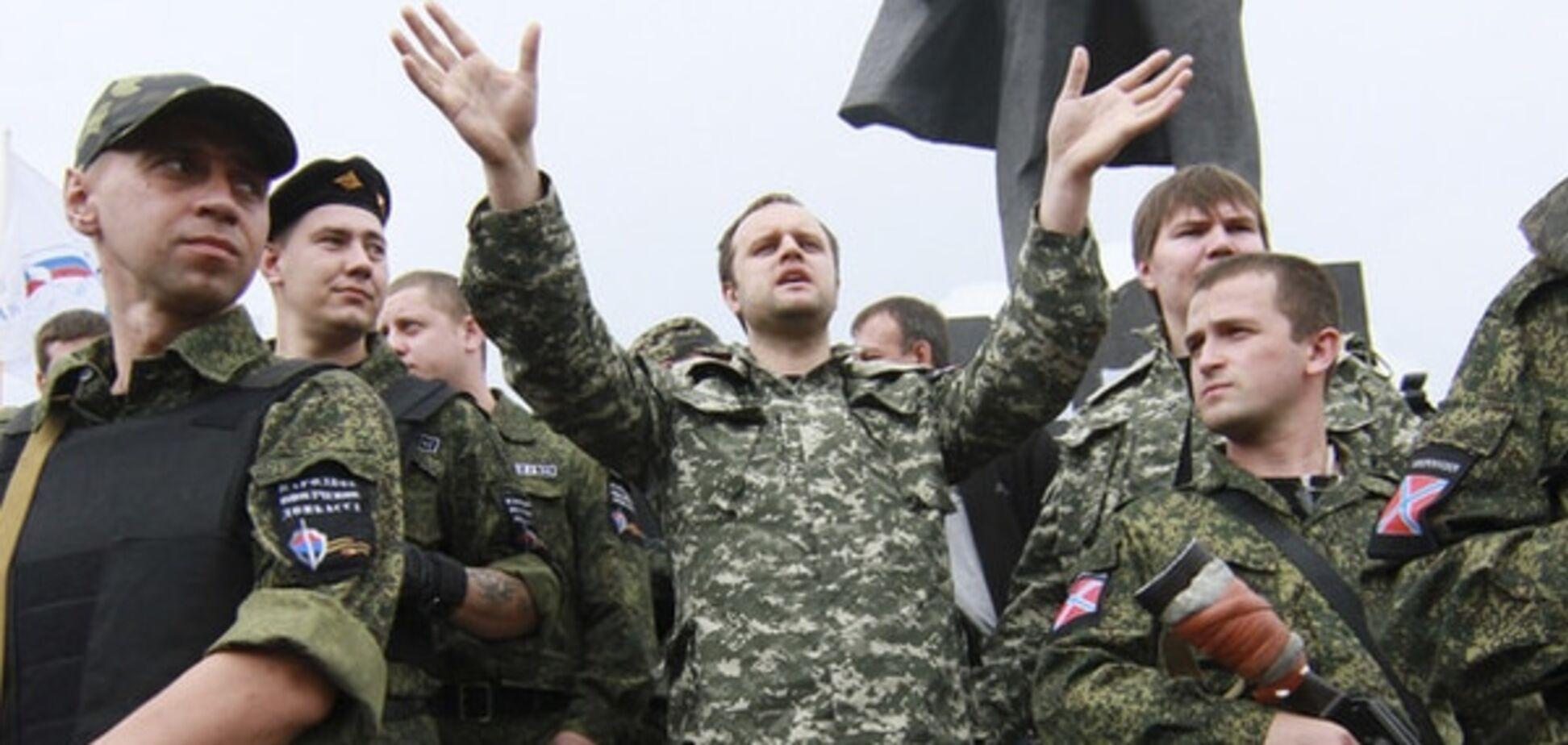 Згаслий факел. 'Письменник' Губарєв презентував свою книгу про 'Новоросію'