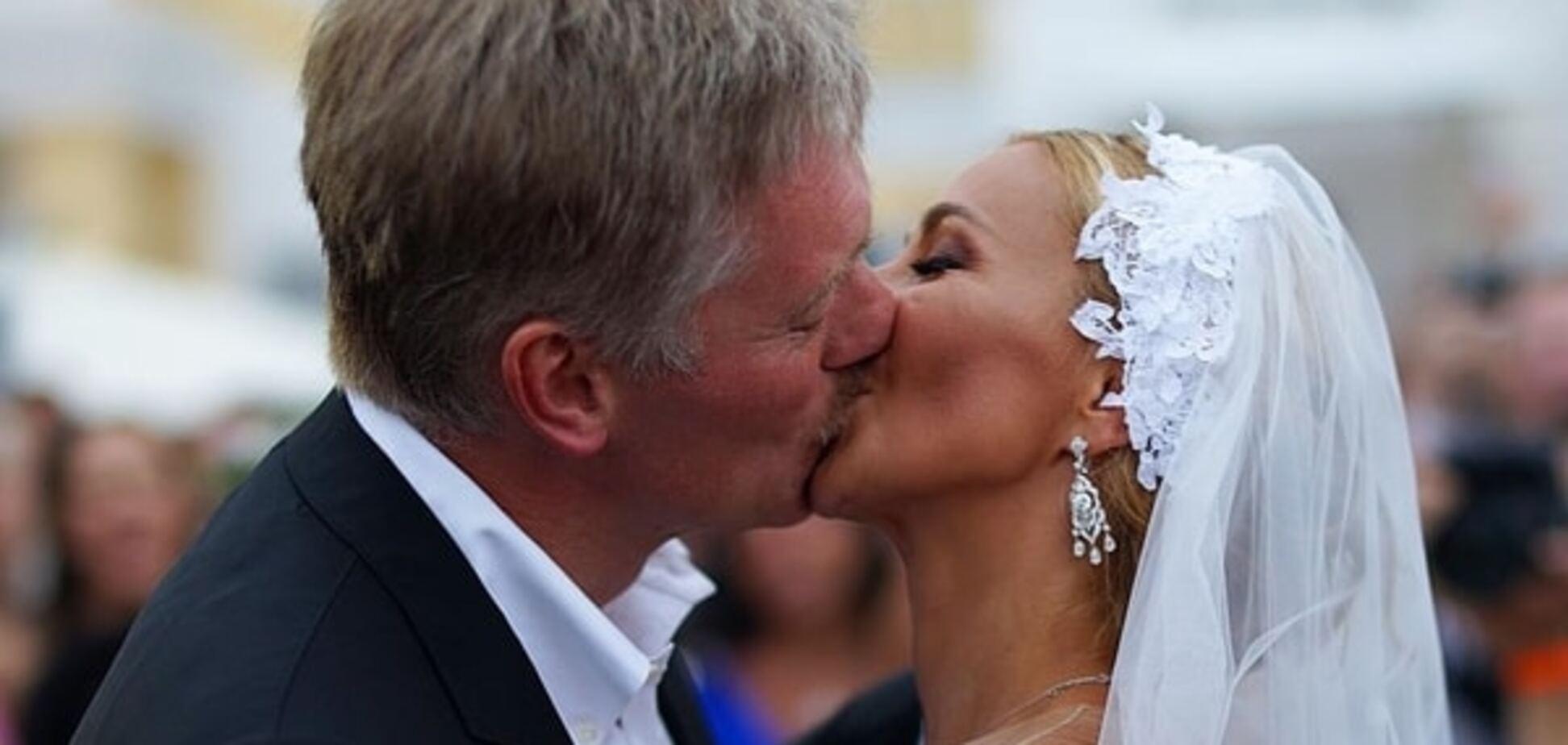 Дочка Пєскова заявила, що весілля її батька з Навкою не було: відеофакт