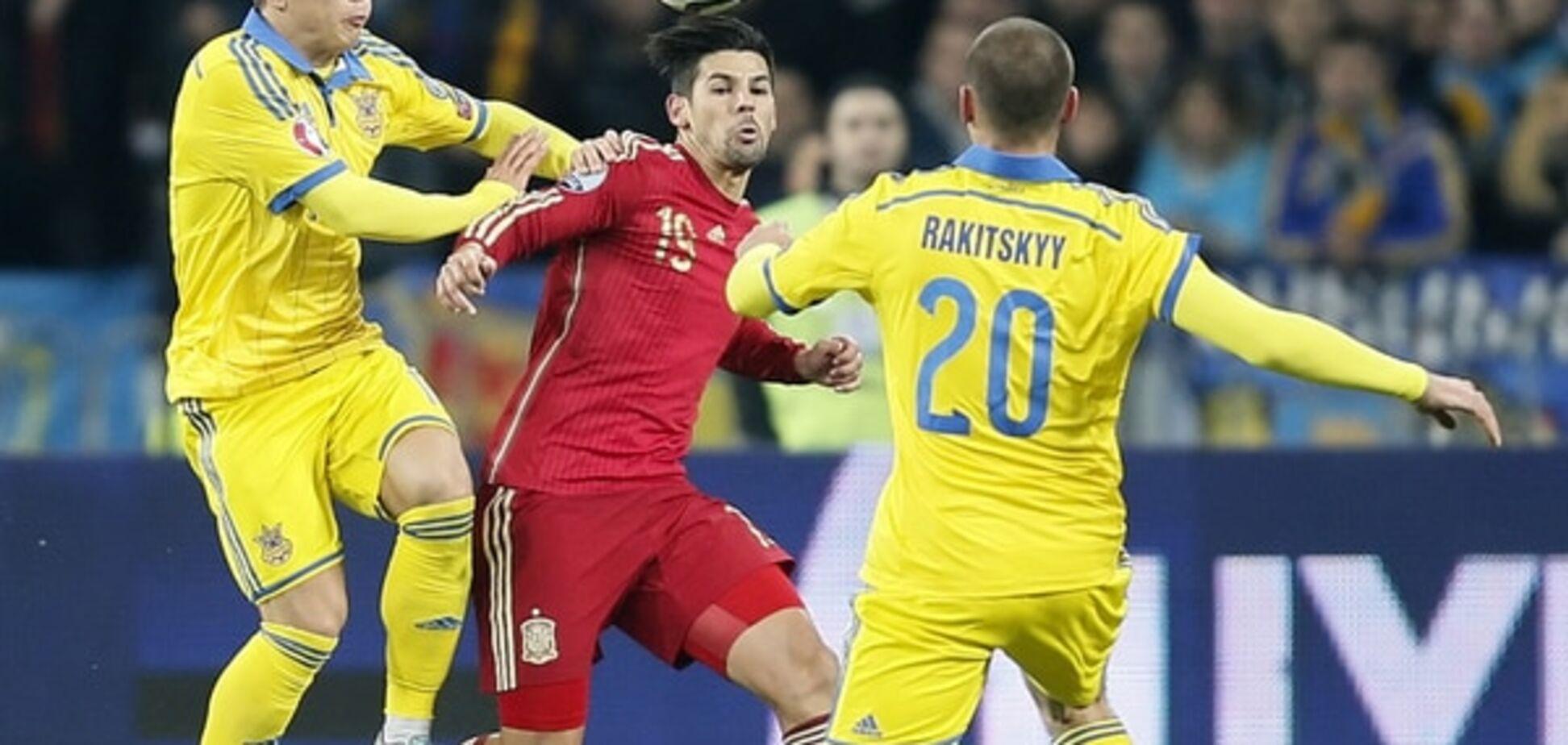 Україна - Іспанія - 0-1: відео-огляд матчу