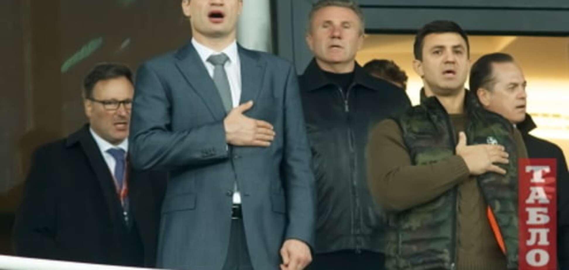 Кличко, Бубка і Кравчук: фото VIP-гостей на матчі Україна - Іспанія