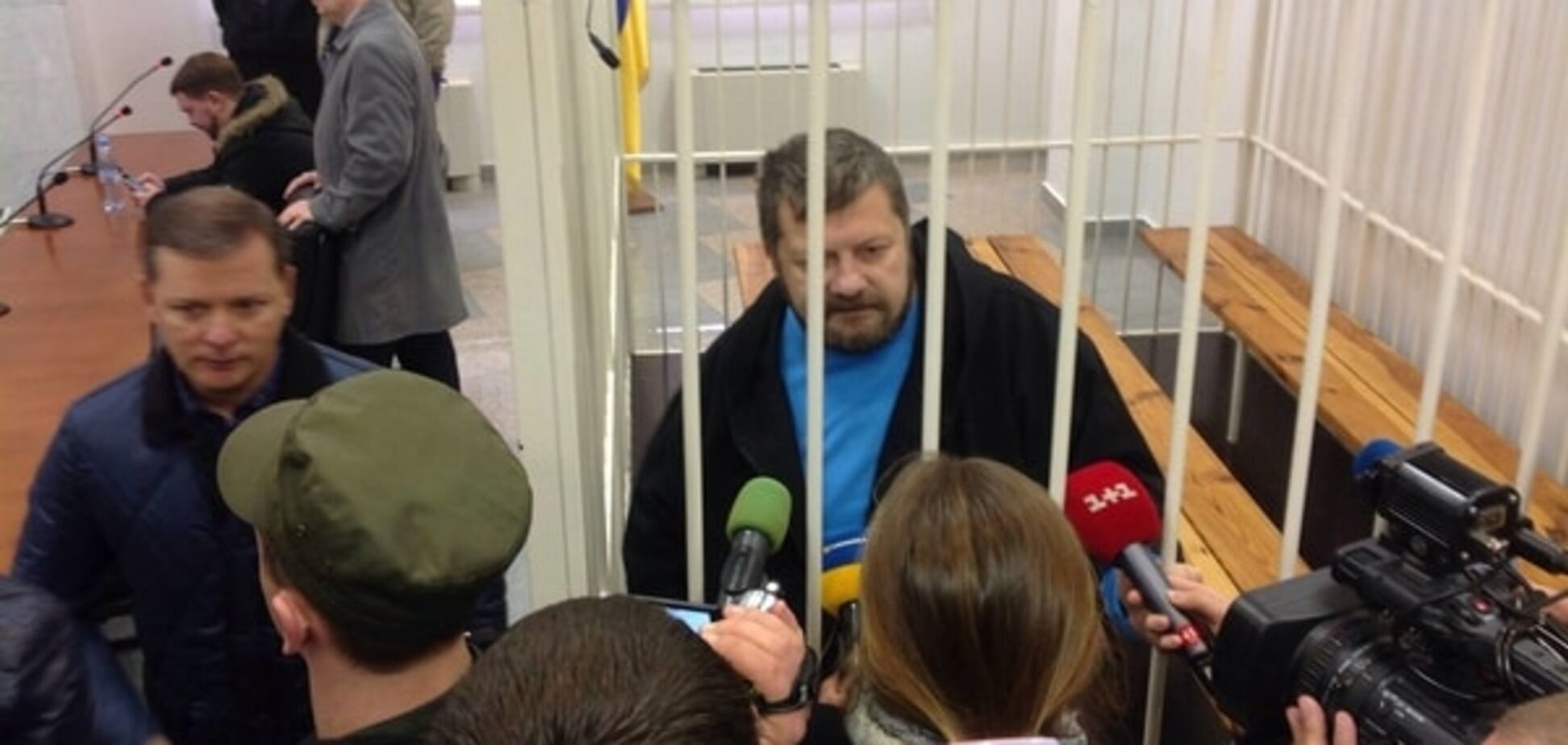 Під час суду Мосійчуку викликали швидку