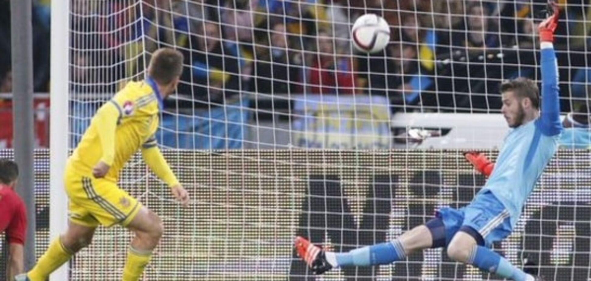 'Божевільний' воротар збірної Іспанії назвав запоруку перемоги над Україною