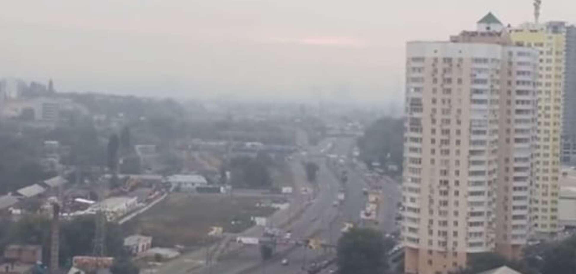 Под Киевом от горения торфяников взорвались боеприпасы: опубликовано видео