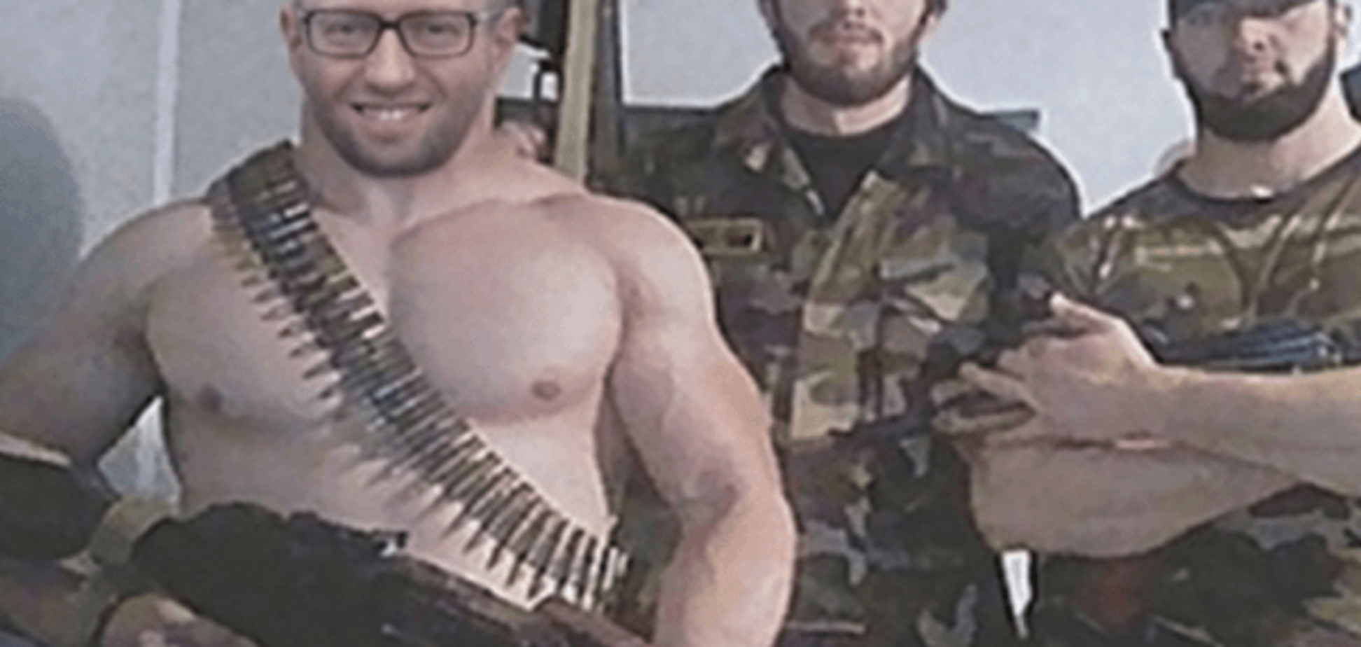 Бегал и много позировал: новые подробности 'зверств' Яценюка в Чечне