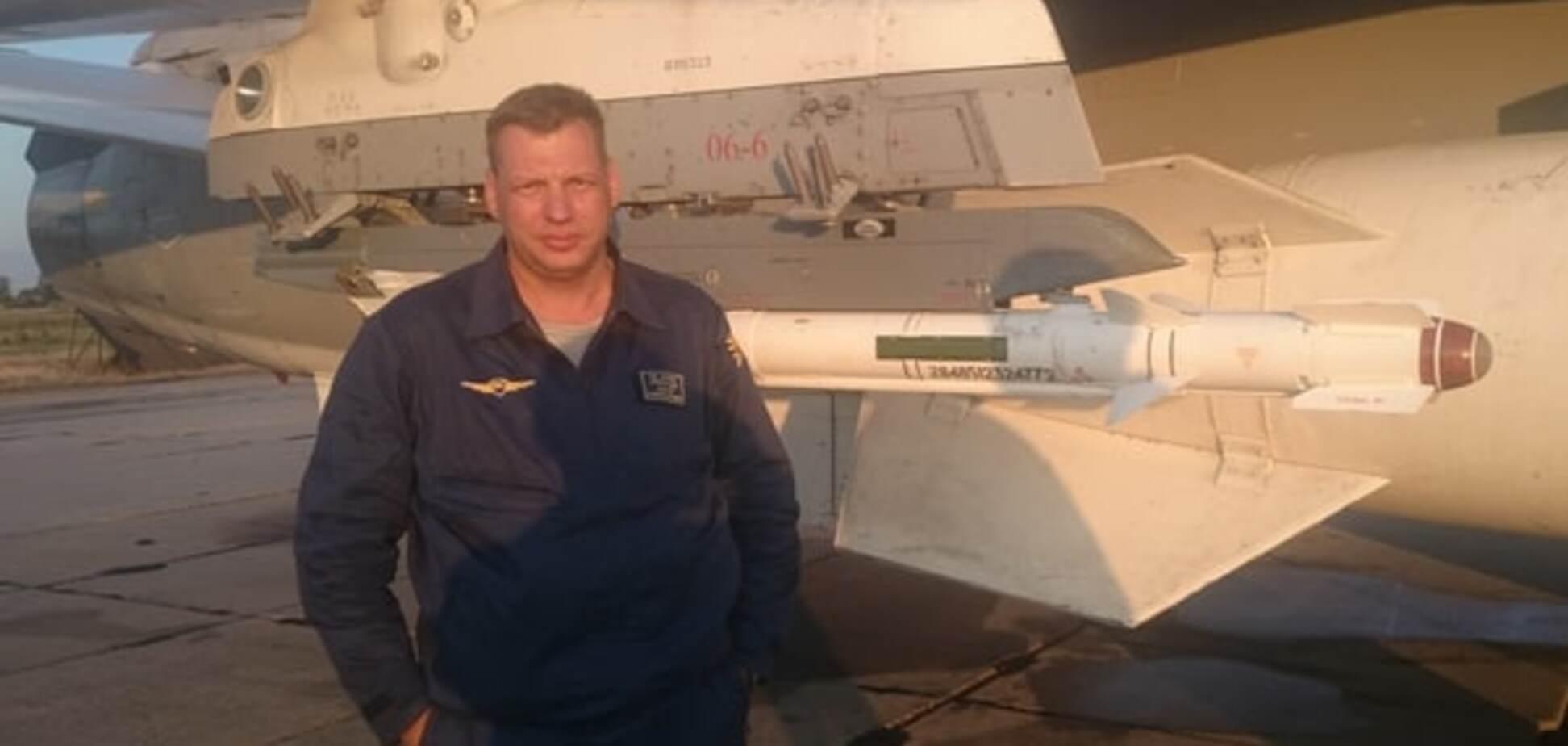 Волонтери викрили ще одного російського льотчика, який бомбить Сирію