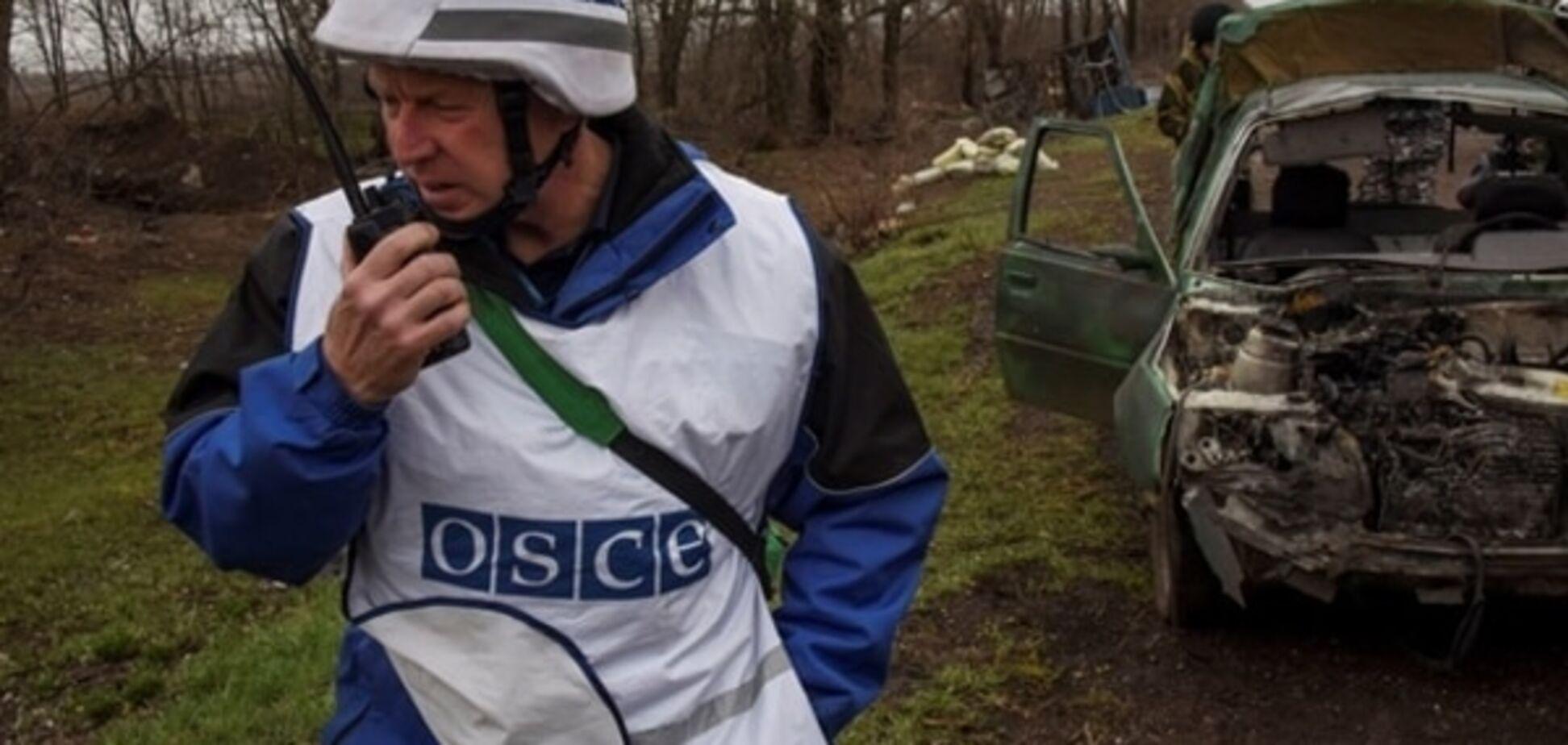 Звіт ОБСЄ: терористи не дають спостерігачам контролювати кордон з Росією