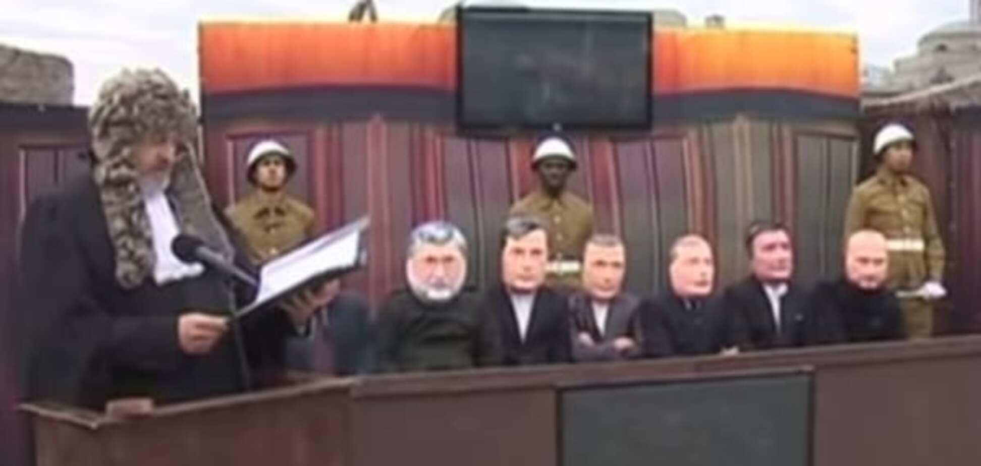 В Москве устроили 'суд' над Ярошем, Саакашвили и Коломойским: опубликованы фото и видео