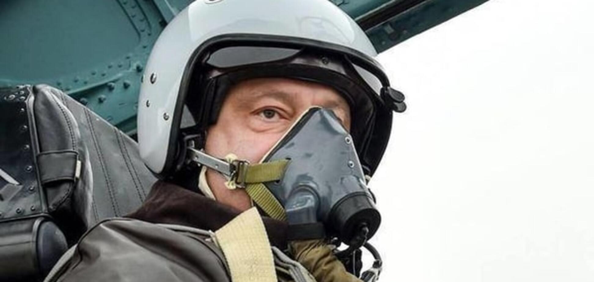 Порошенко и Су-27: принуждение к путинизму