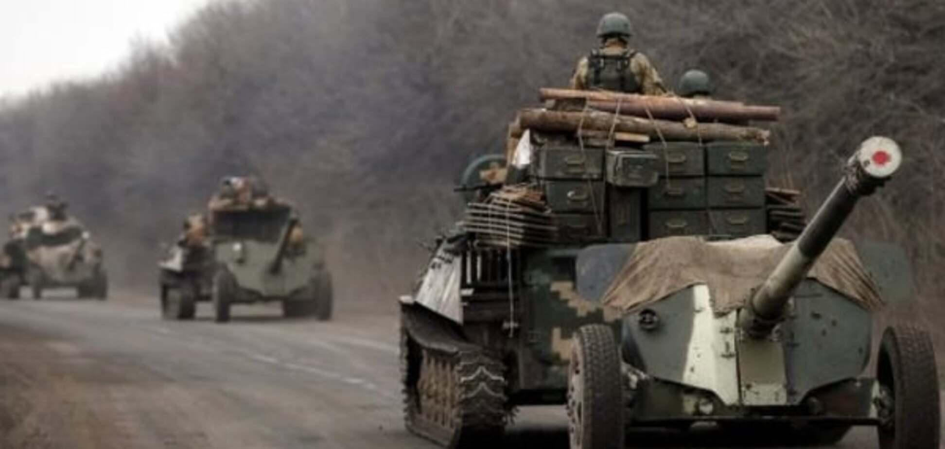 У штабі АТО розповіли, коли почнеться другий етап відводу озброєння