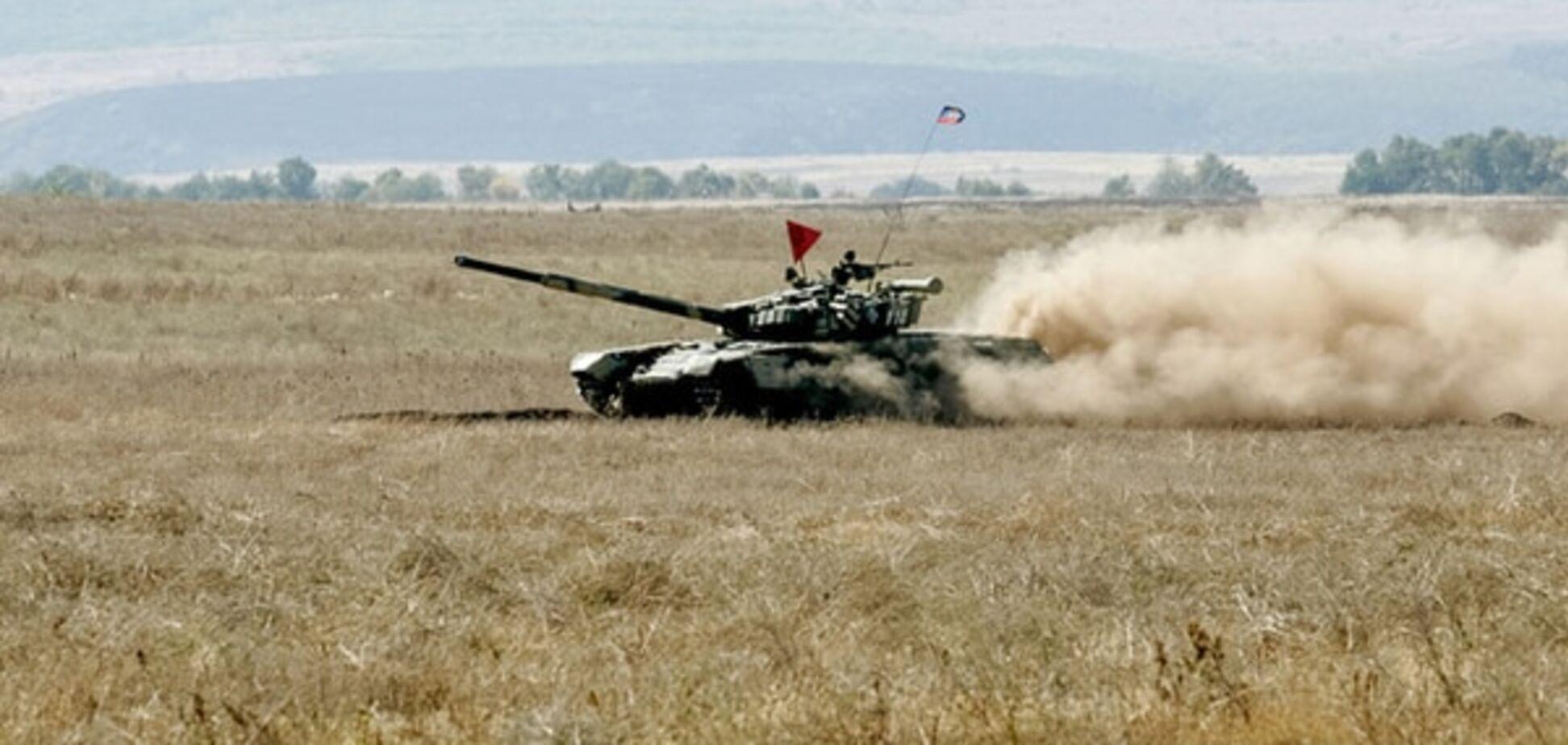 Терористи 'ЛНР' розповіли, коли почнуть відводити танки