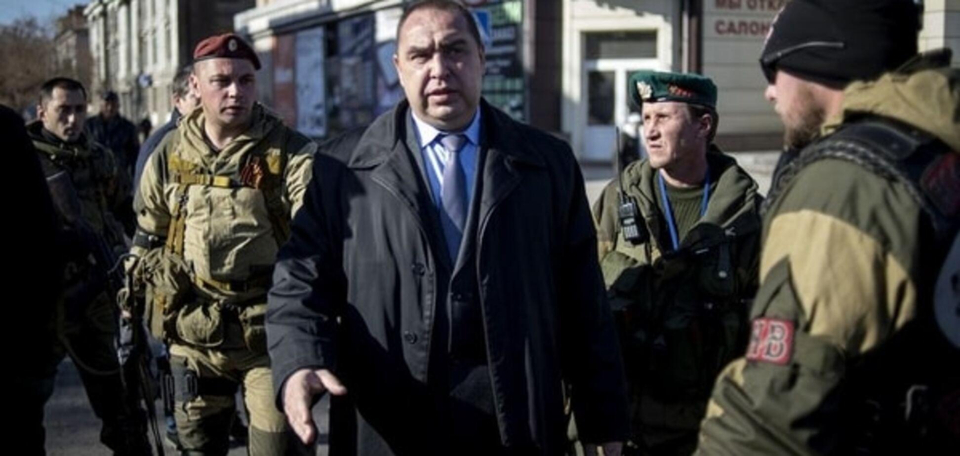 Переворот в 'ЛНР': милиция готовится арестовать Плотницкого