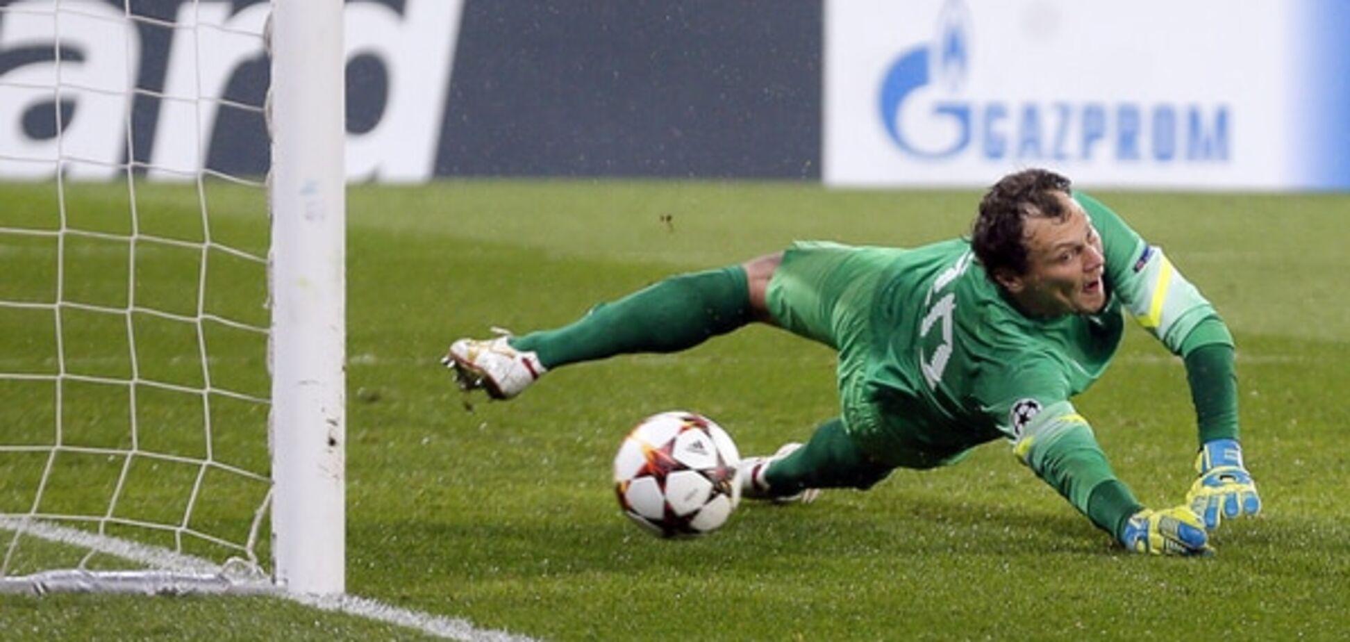 Сейв дня: П'ятов розкішно відбив пенальті у матчі Ліги чемпіонів