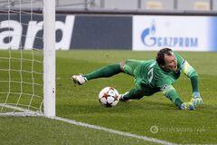 Сейв дня: Пятов роскошно отбил пенальти в матче Лиги чемпионов