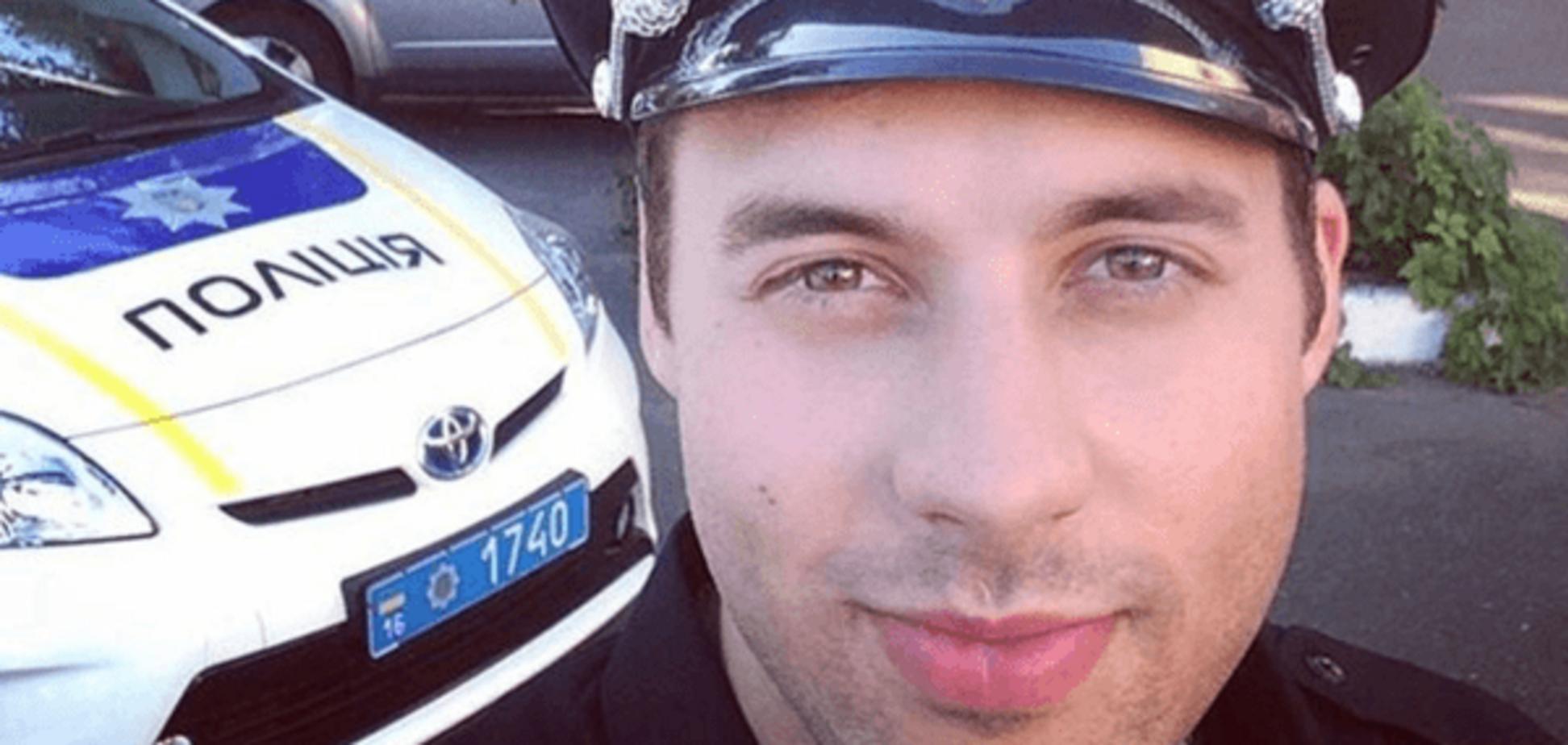 Самый накачанный коп: красавчик-бодибилдер стал полицейским в Одессе