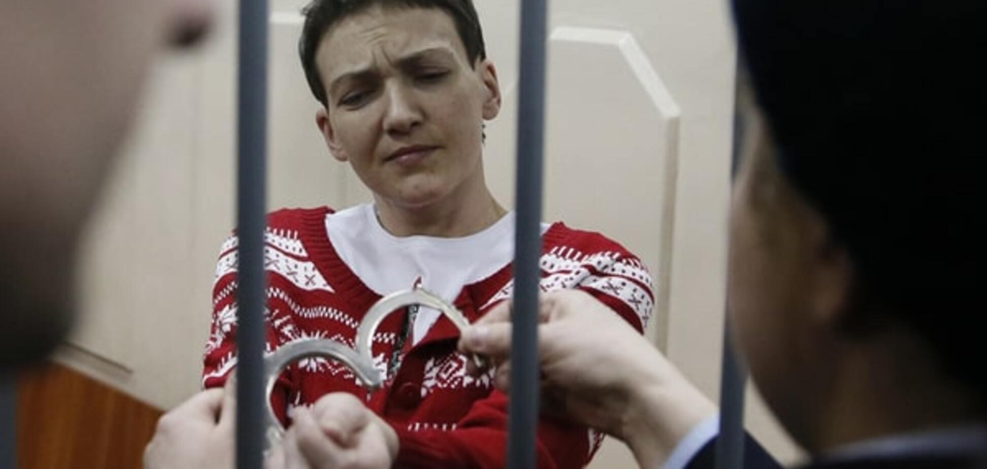 Савченко склала заповіт і готова розпочати голодування