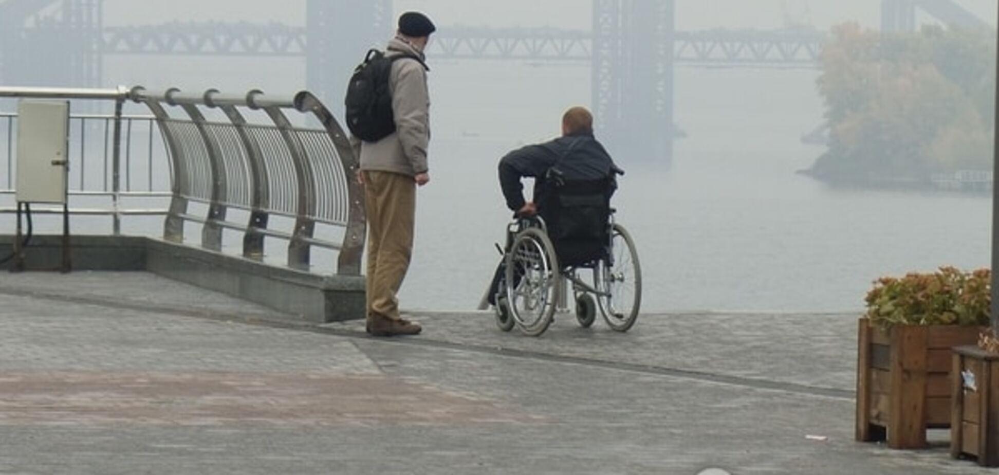 Непроходимый Киев: столица не видит инвалидов войны на Донбассе