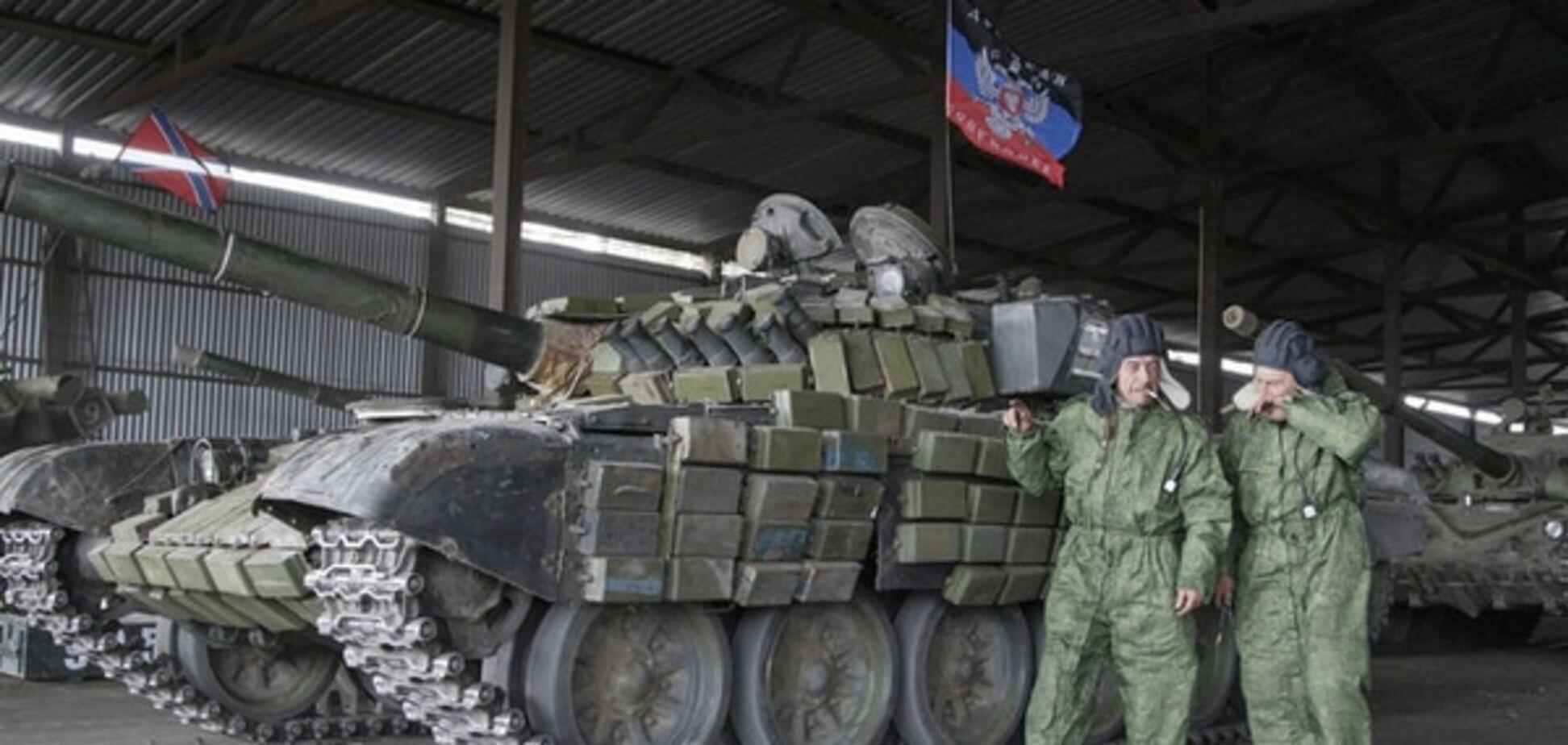 Замасковані під терористів військові з РФ готують техніку до повернення в Росію - Тимчук