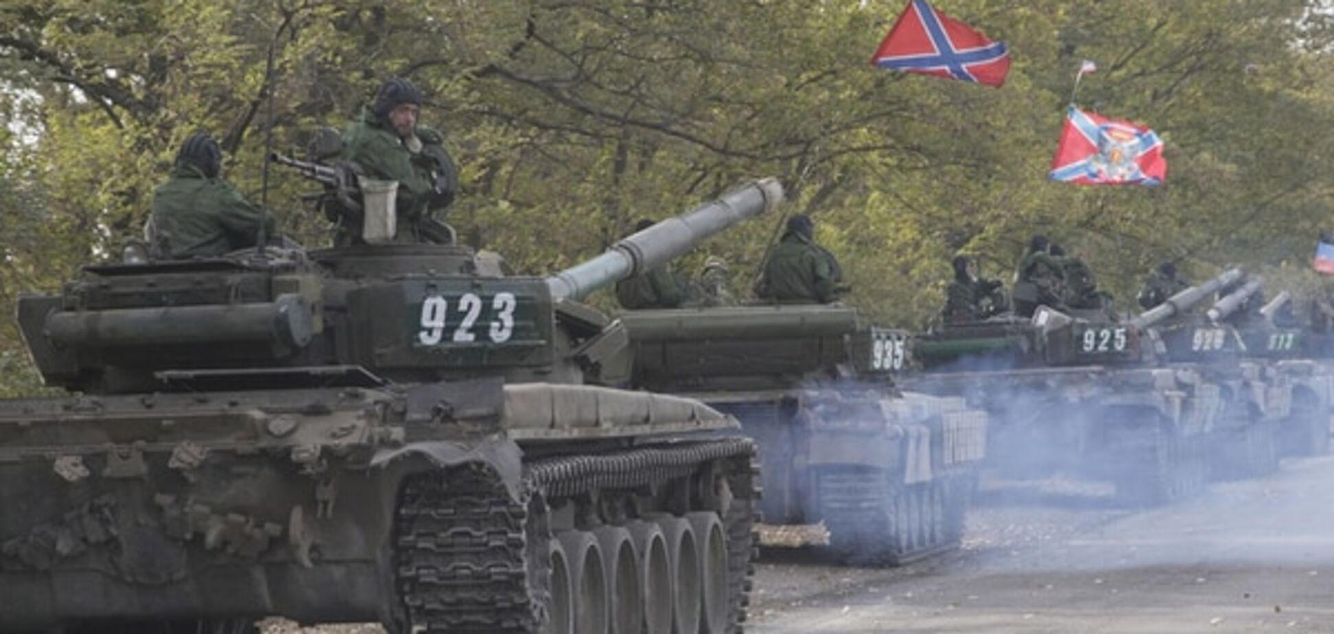На Донеччині знайшли невідведені 'Гради', 'Гвоздики' і танки терористів
