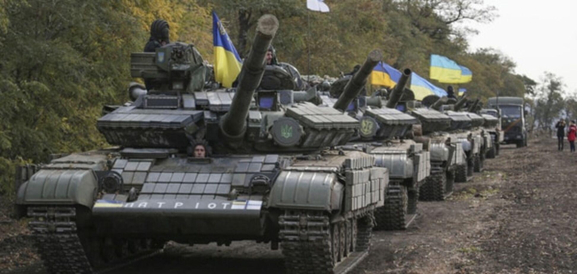 Ситуація в зоні АТО: військові укріплюють позиції і починають відведення артилерії
