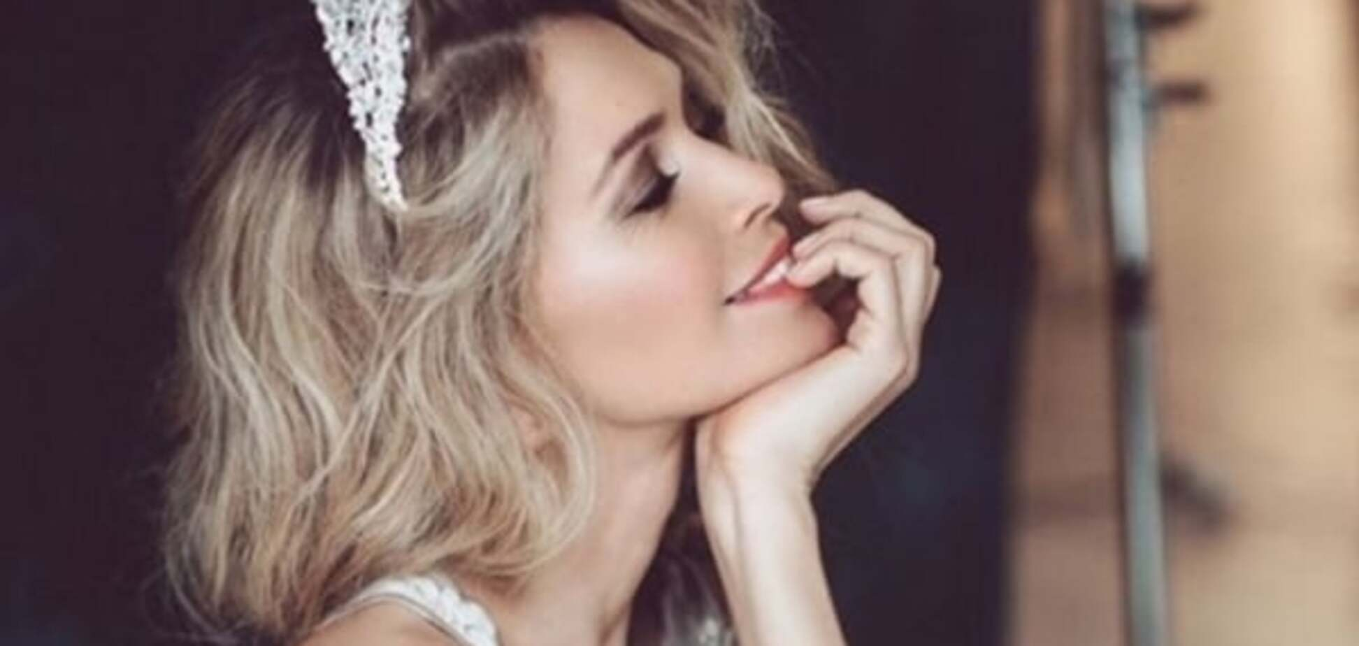 Брежнєва своїм фото натякнула на щасливе подружнє життя з Меладзе