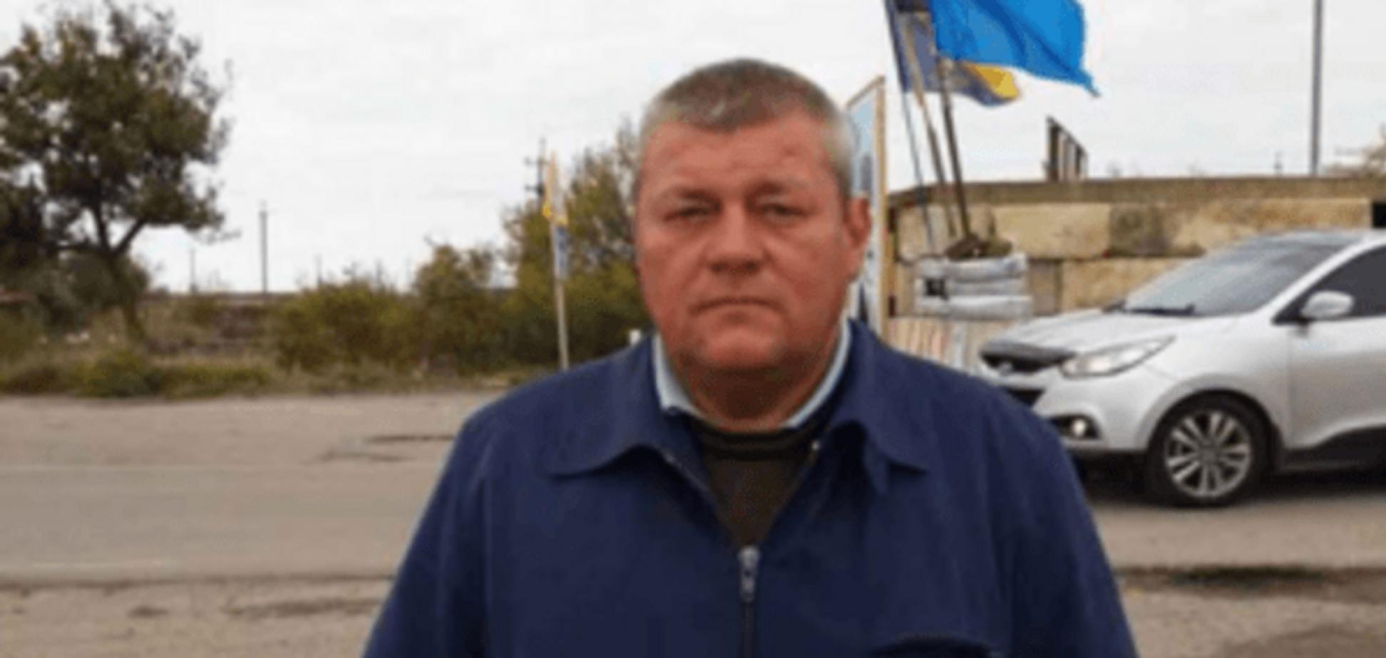 Азов задержал изменника Родины на выезде из аннексированного Крыма