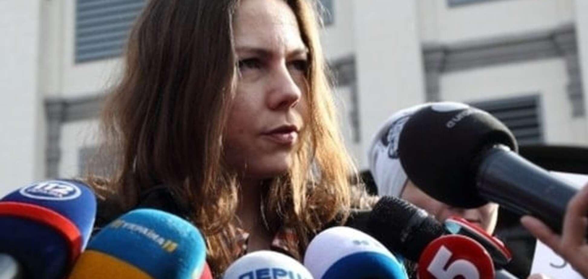 Сестра Савченко на суді з'їла 'російське немовля': фотофакт