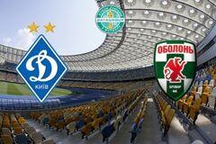 Динамо - Оболонь: онлайн видеотрансляция матча Кубка Украины