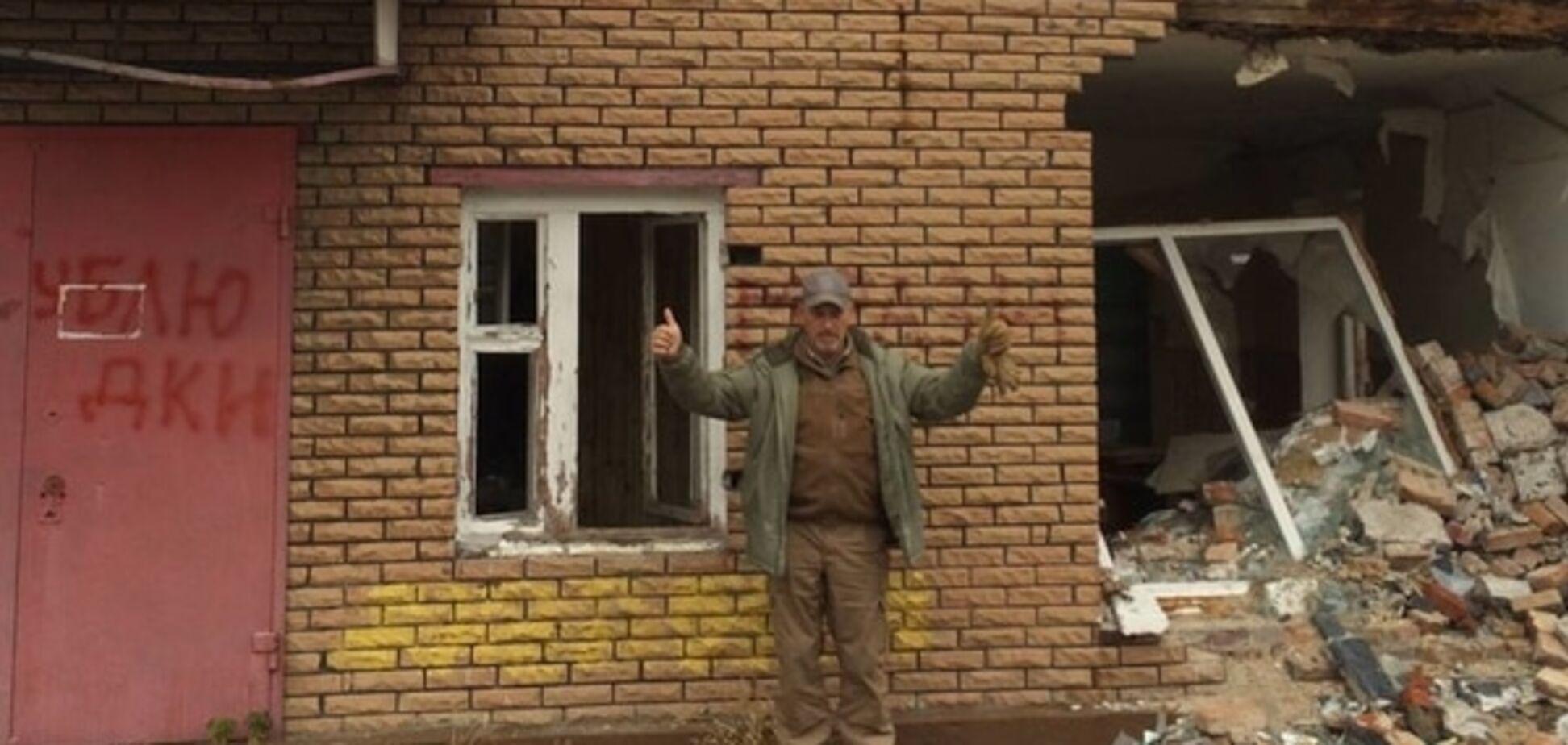 'Конец фильма': Тука показал фото руин офиса КПУ в Лисичанске