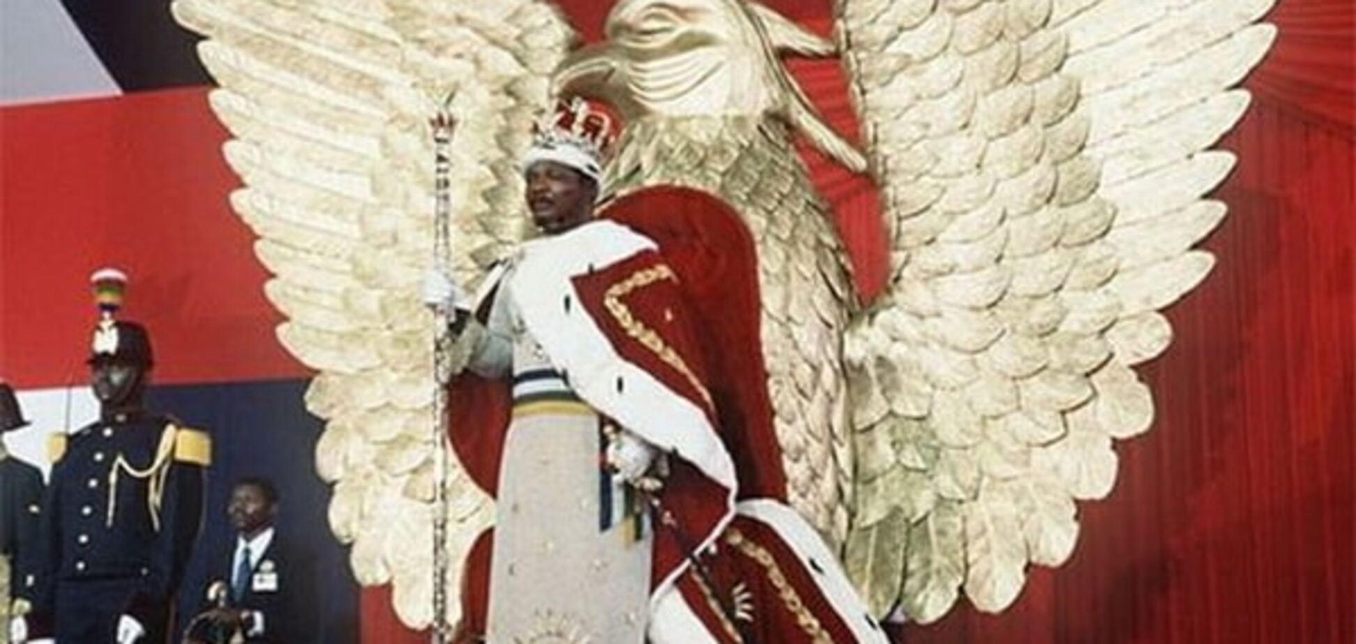 Африканский император прославился тем, что съедал своих врагов