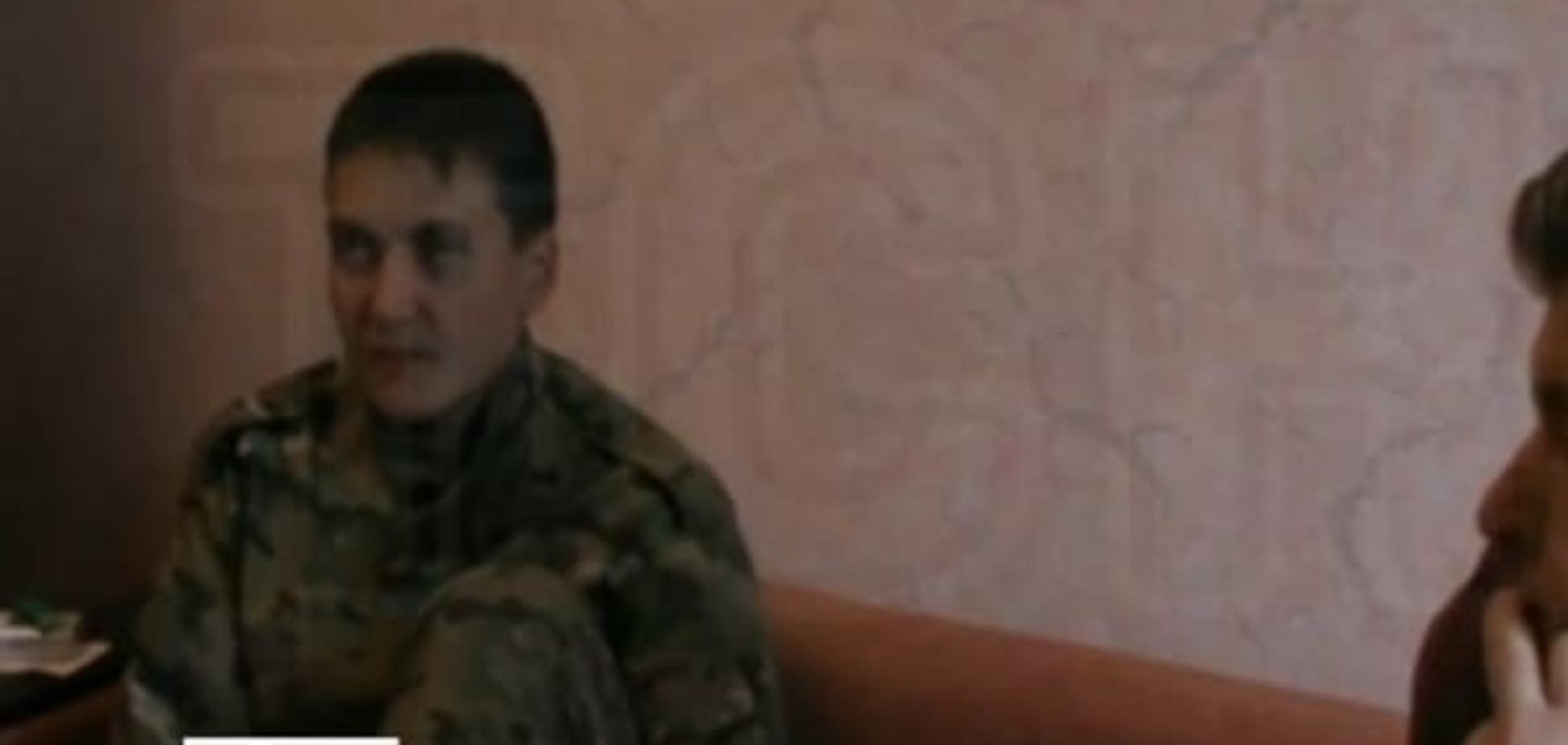 В Сеть попала запись первого допроса пленной Савченко: видеофакт