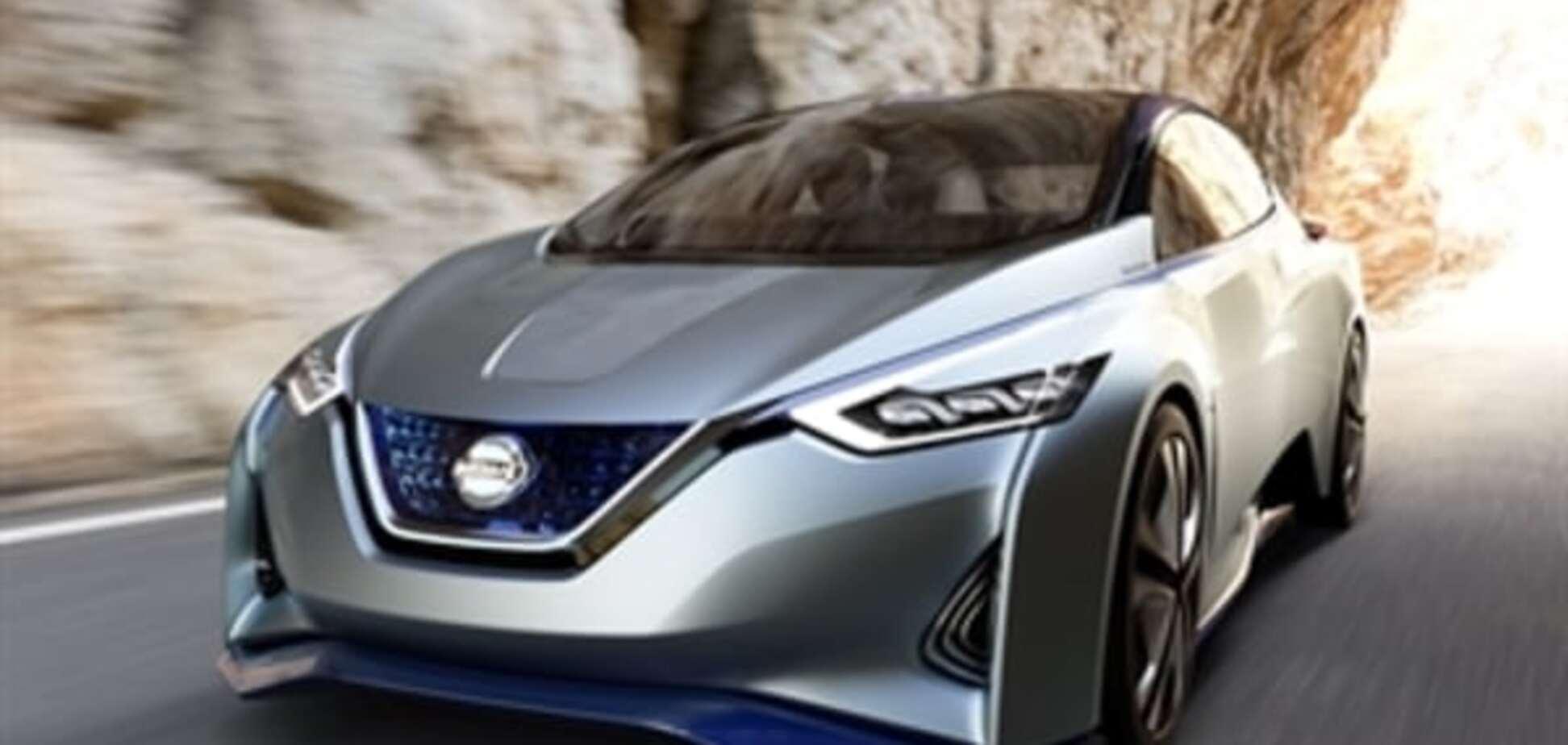 Токийский автосалон: Nissan показал 'беспилотник', который ездит в стиле хозяина