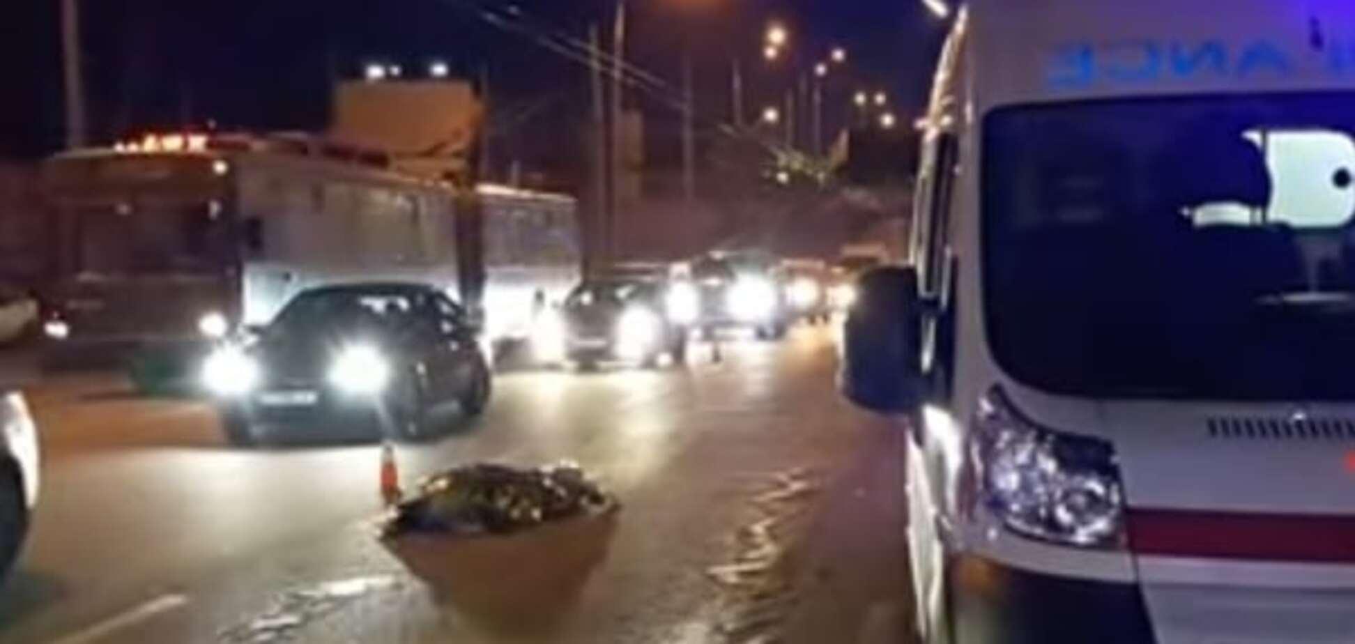 В Киеве автокофейня Таврия устроила смертельное ДТП: опубликовано видео 18+