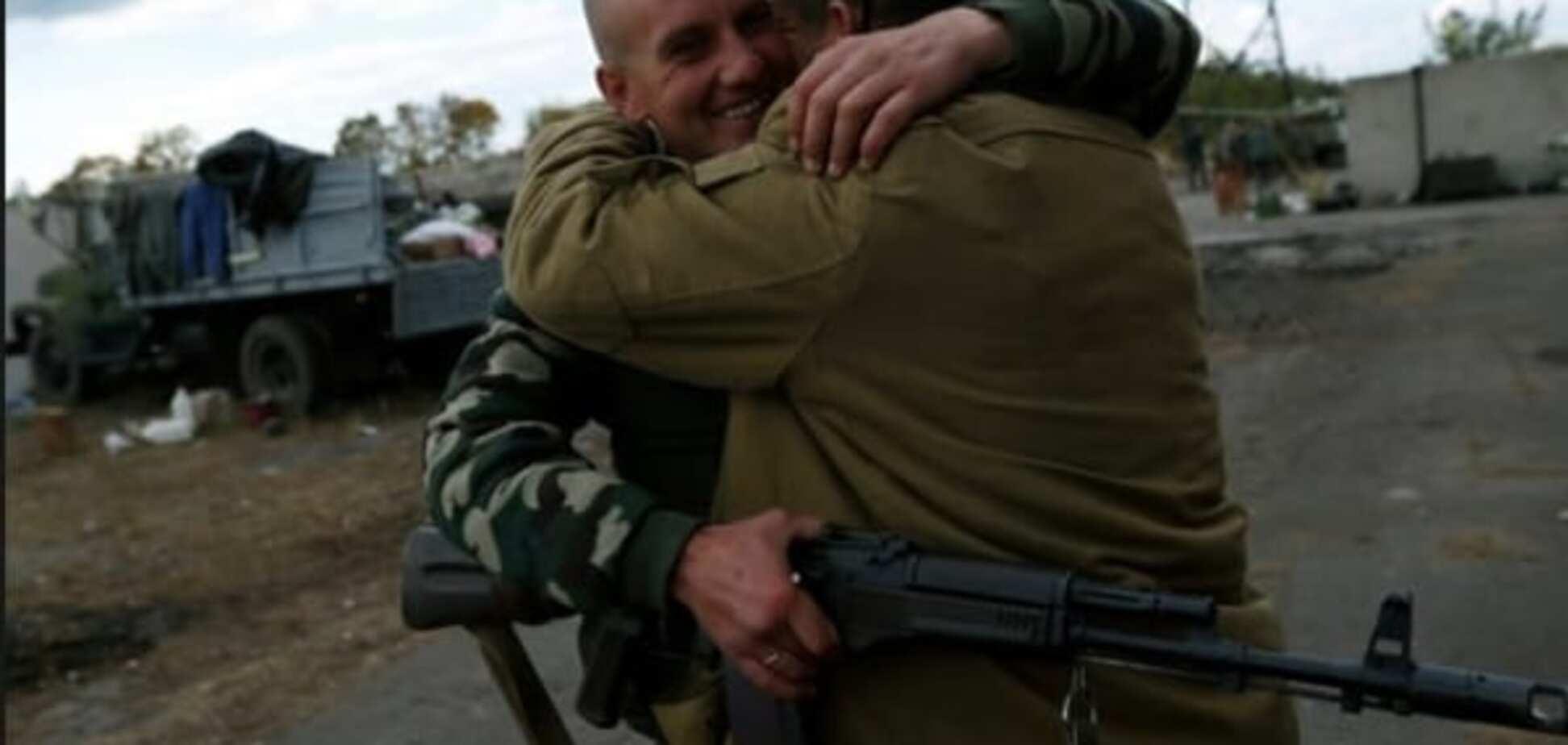 Из плена террористов освобождено 9 украинских воинов