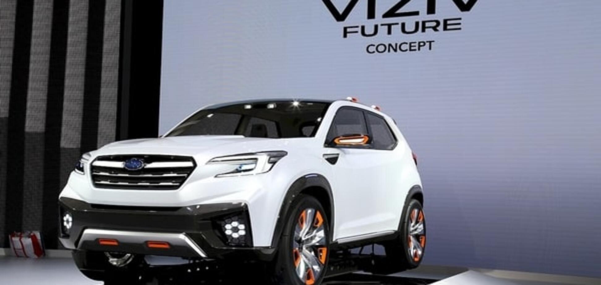 Токийский автосалон: Subaru научил концепт ездить без водителя