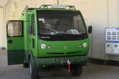У Львові показали 'хижий' позашляховик 'Хантер': опубліковані фото і відео