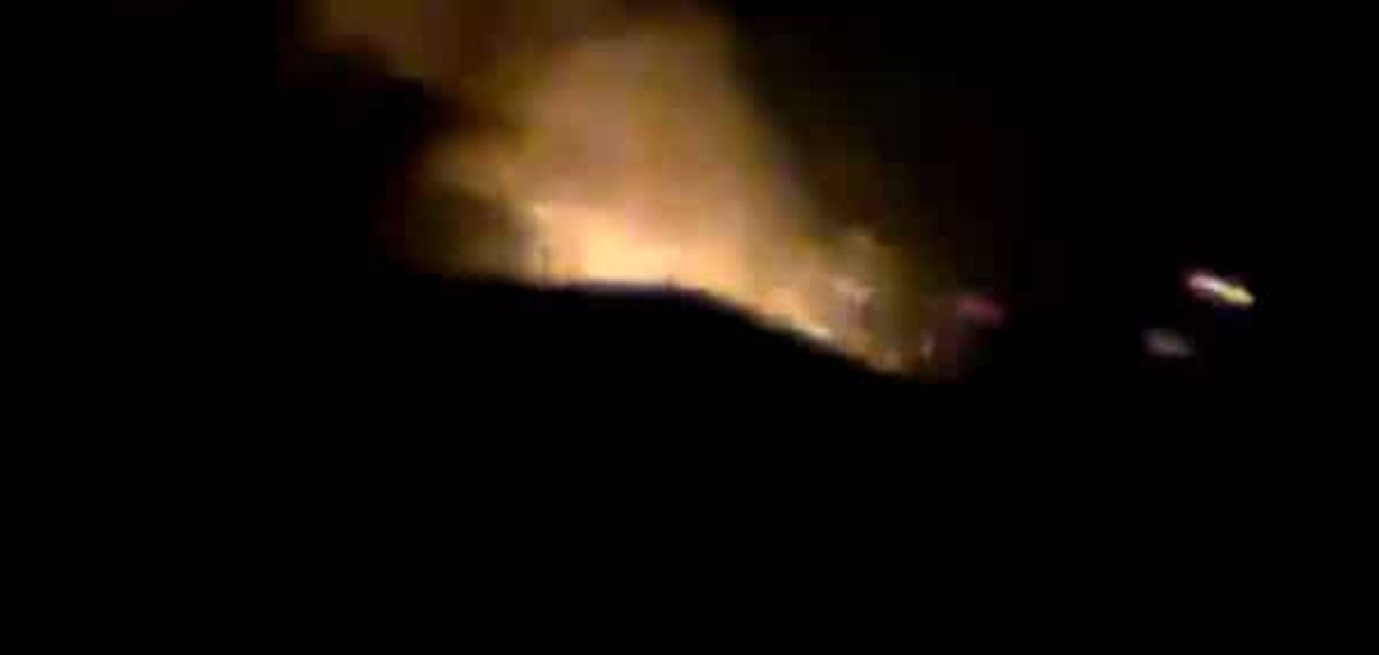 'Было светло, как днем': стали известны подробности пожара в Сватово