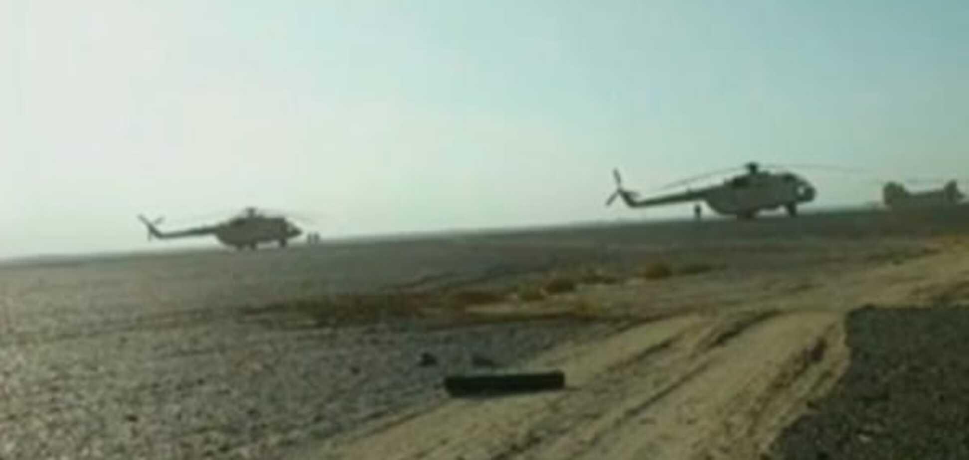 Опубликованы первые видео с места катастрофы Airbus A321 в Египте