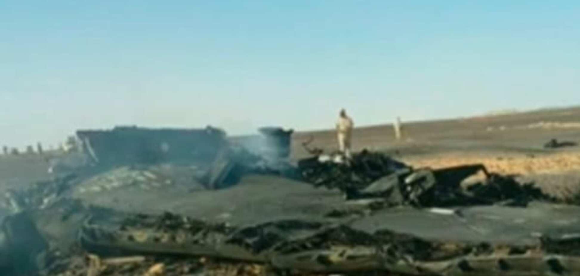 Опубликованы первые фото и видео с места катастрофы Airbus A321