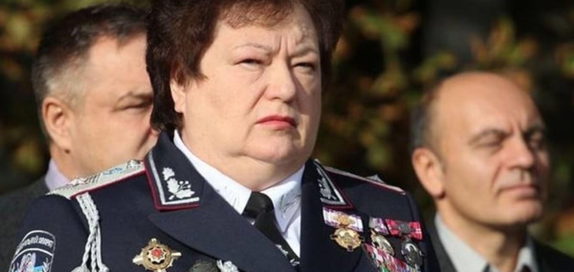 У Херсоні екс-куратор антиМайдану прийняла присягу у поліцейських курсантів