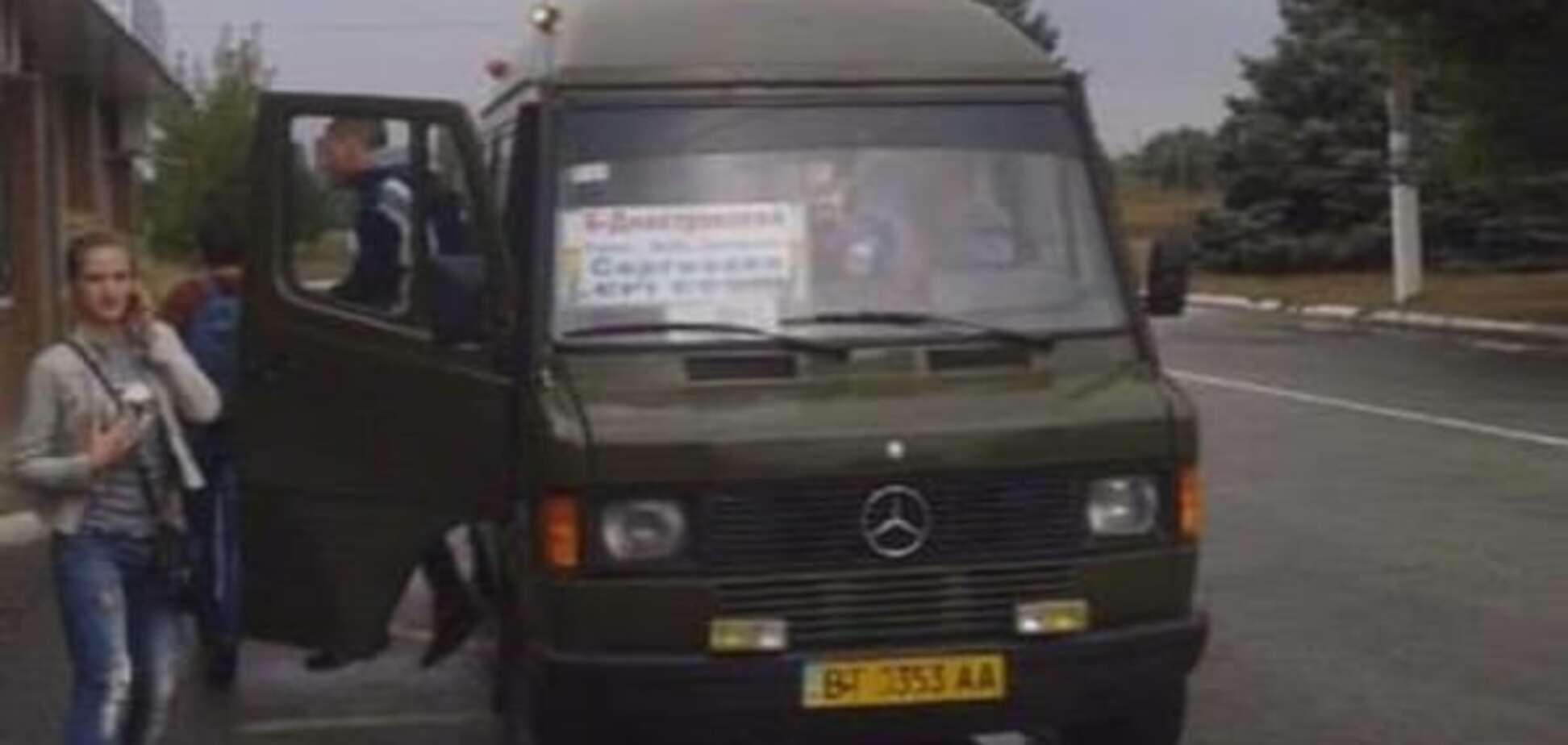 На Одещині водій маршрутки нахамив 'кіборгу': історія однієї образи